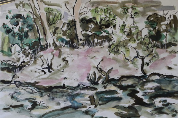 Moreton Bay Creek by Lyn Laver-Ahmat