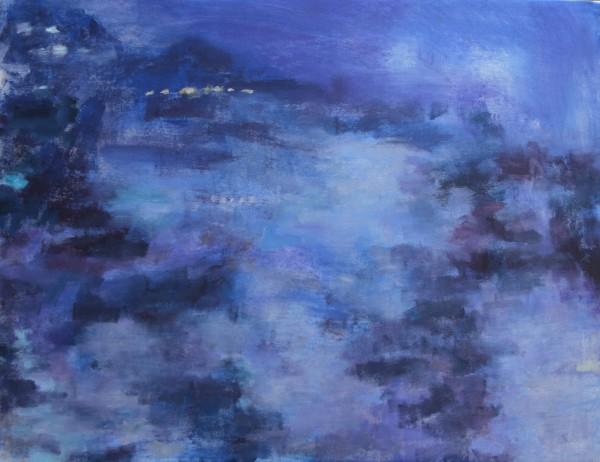 Ross River at Dusk by Lyn Laver-Ahmat