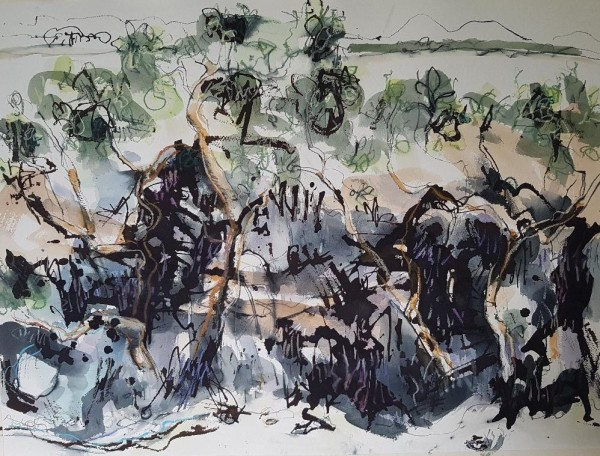 Mangroves McCready Creek by Lyn Laver-Ahmat