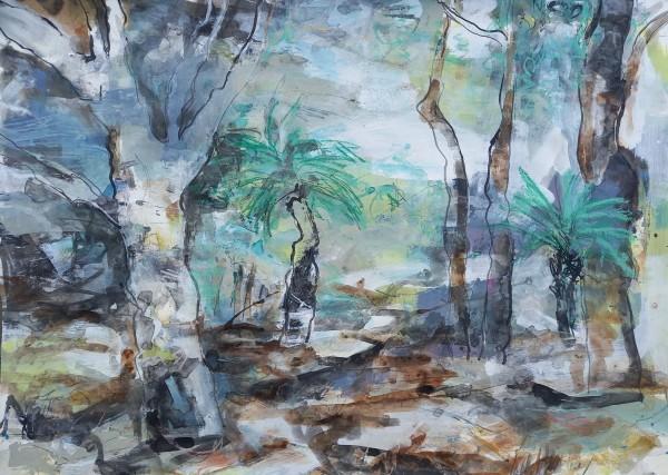 Quiet Glade, Grasstree Beach by Lyn Laver-Ahmat
