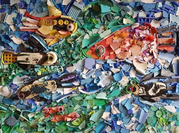 A Plastic Sea by Lyn Laver-Ahmat