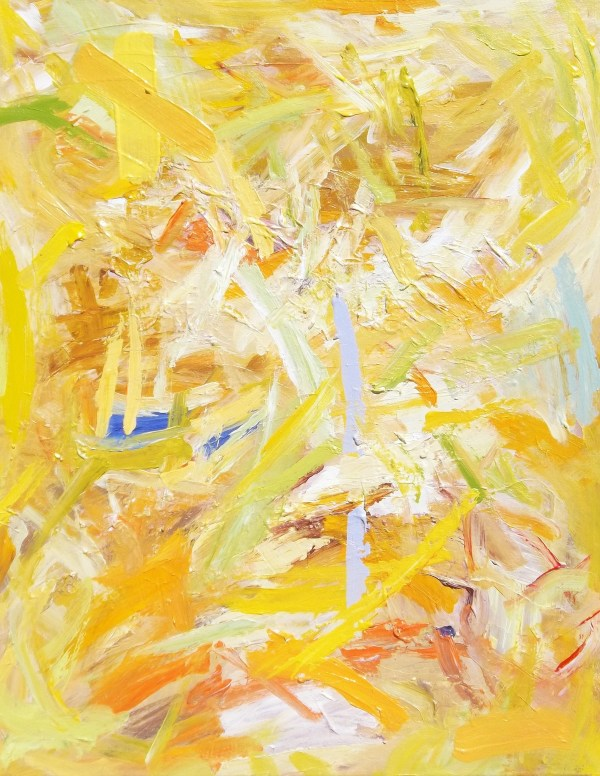 Yellow Painting  by Eugene  Weber