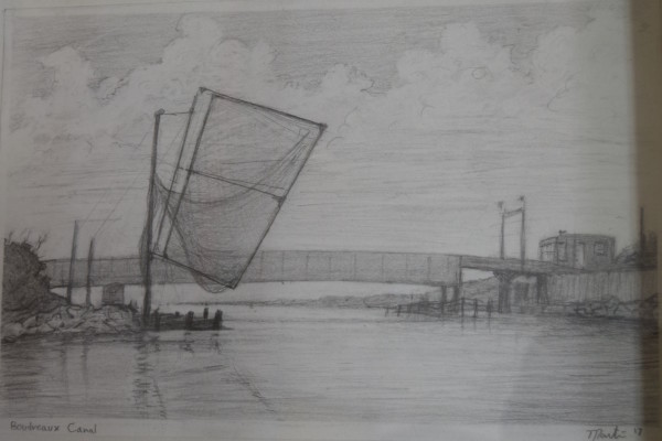 Boudreaux Canal Study  by Leslie  Martin