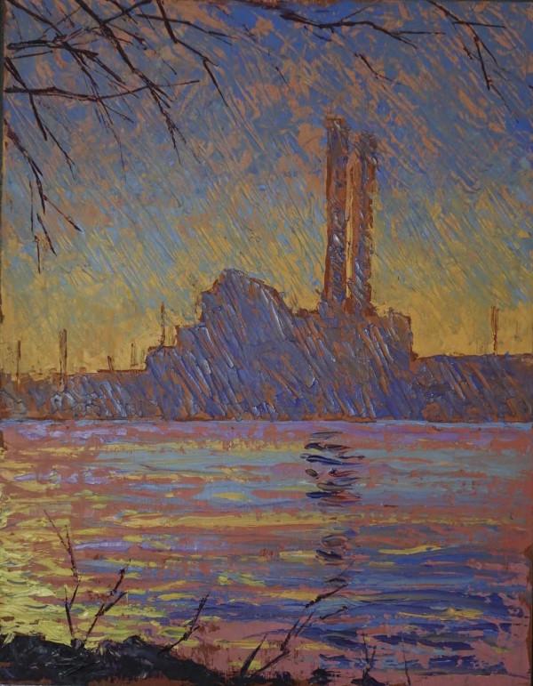 Factory Studies 6 by Leslie  Martin