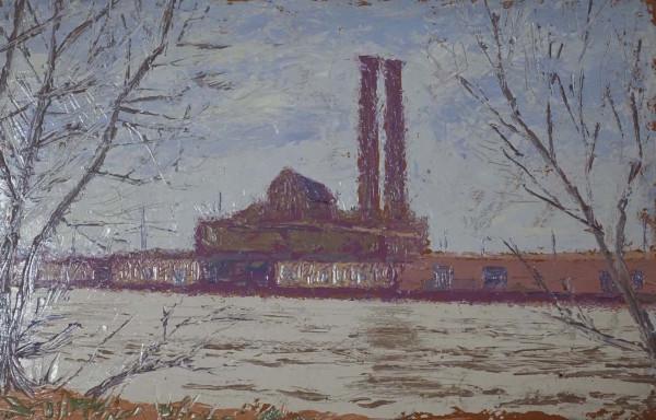 Factory Studies 8 by Leslie  Martin
