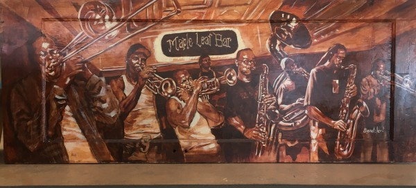 Maple Leaf Brass Band by Anthony  Bordelon