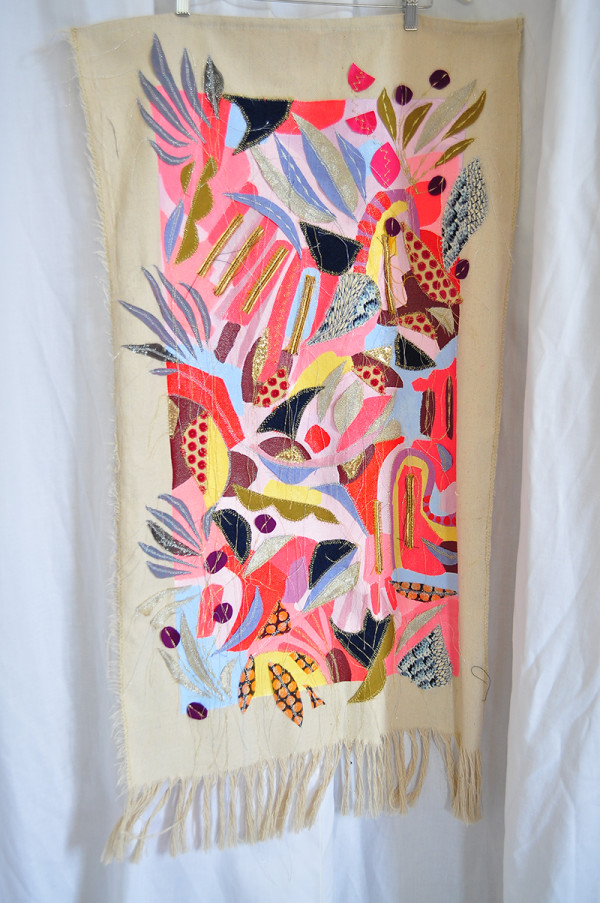 Garden Map-Tapestry 4 by Marianne Angeli Rodriguez