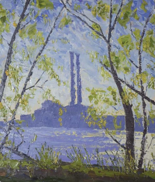 Factory Studies 11 by Leslie  Martin