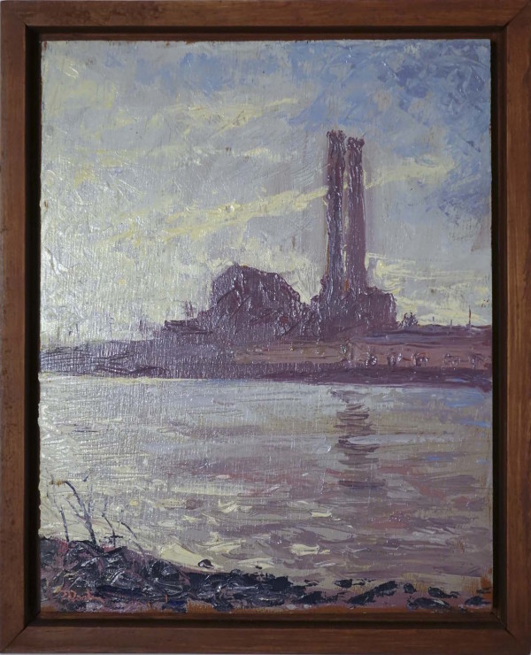 Factory Studies 1 by Leslie  Martin