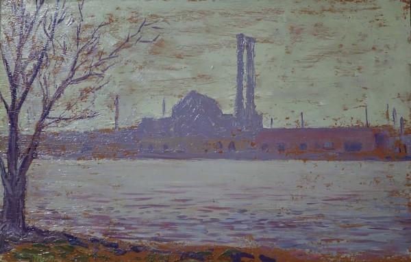Factory Studies 3 by Leslie  Martin