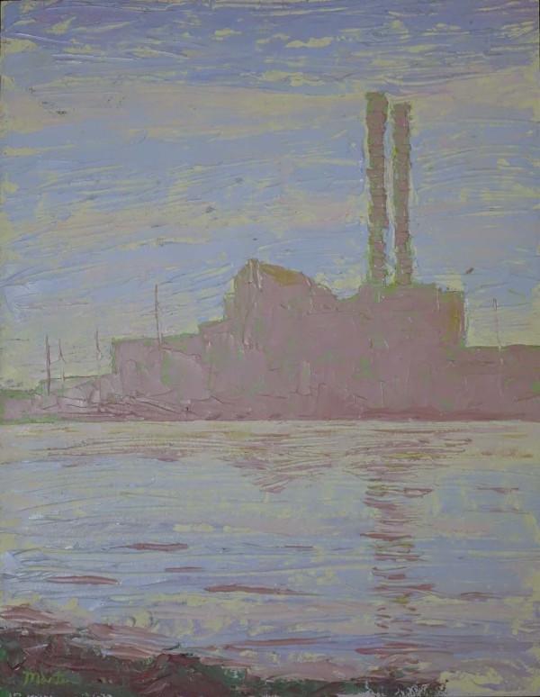 Factory Studies 4 by Leslie  Martin