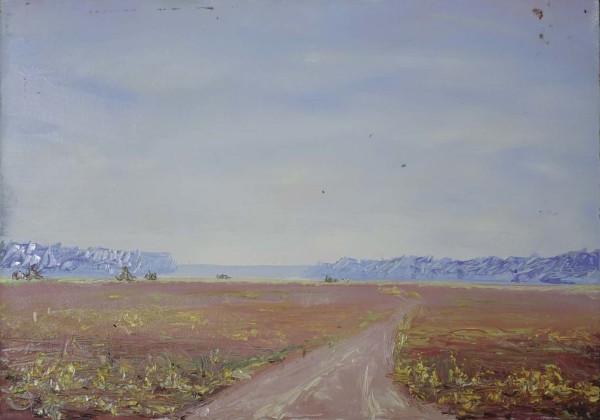 Hope Farm Road 2 by Leslie  Martin