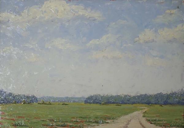 Hope Farm Road 4 by Leslie  Martin
