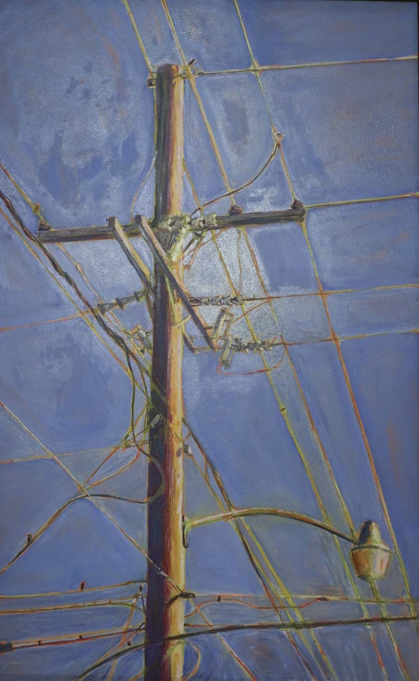Powerlines #1 by Leslie  Martin
