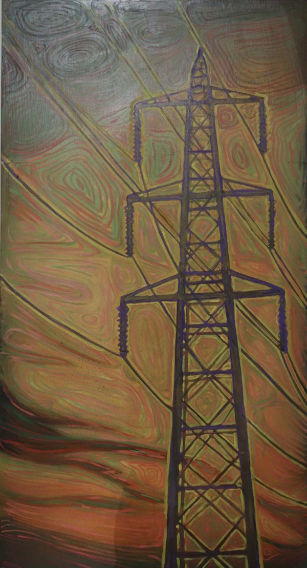 Powerlines #2 by Leslie  Martin