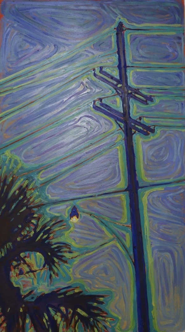 Powerlines #4 by Leslie  Martin
