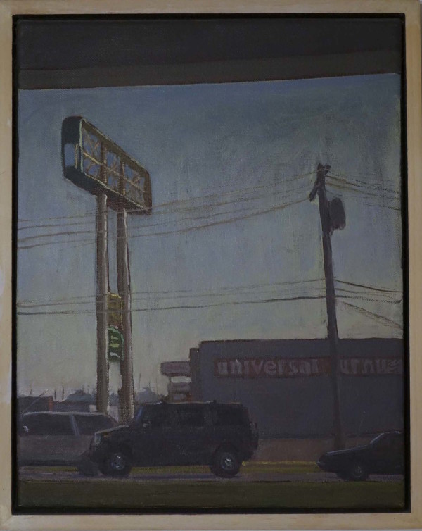 Street Scapes 4 Plein Air  by Leslie  Martin