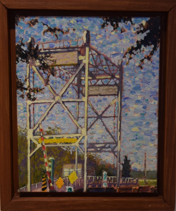 Montagut Bridge by Leslie  Martin