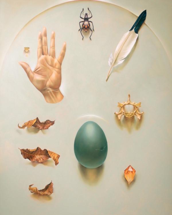 Offering 3  by Ida Floreak