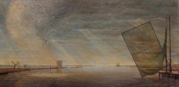 Paupíères In Oil  by Leslie  Martin