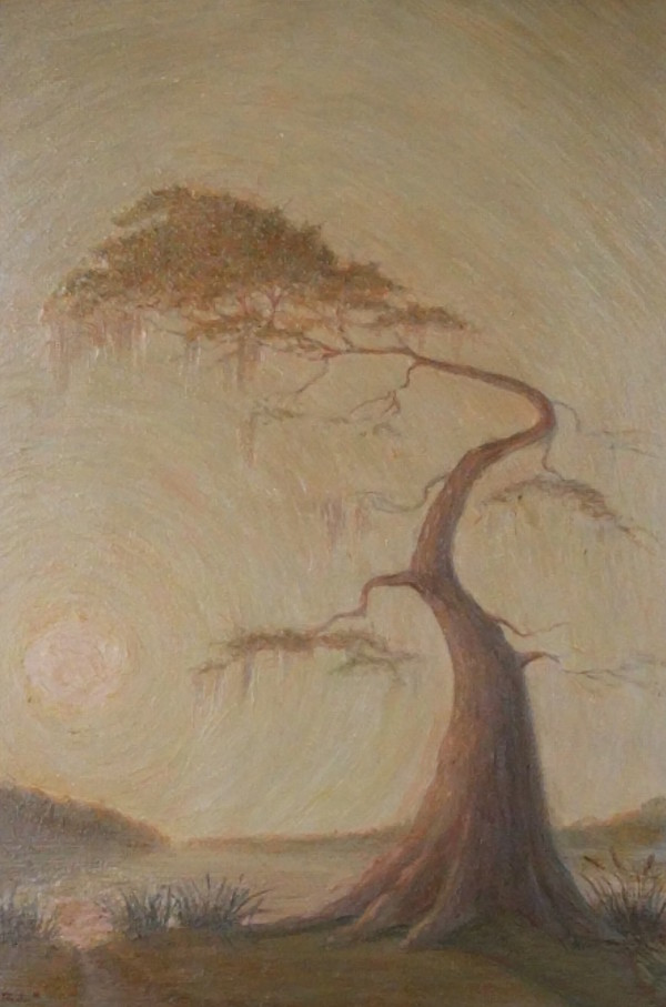 Weather Tree by Leslie  Martin