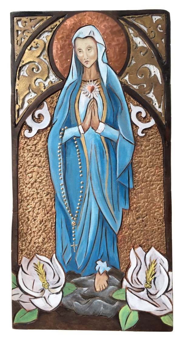 Virgin Mary by Kelly Guidry