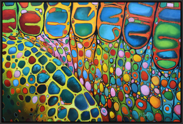 Abstract Alligator Number Nine by Michael  Guidry
