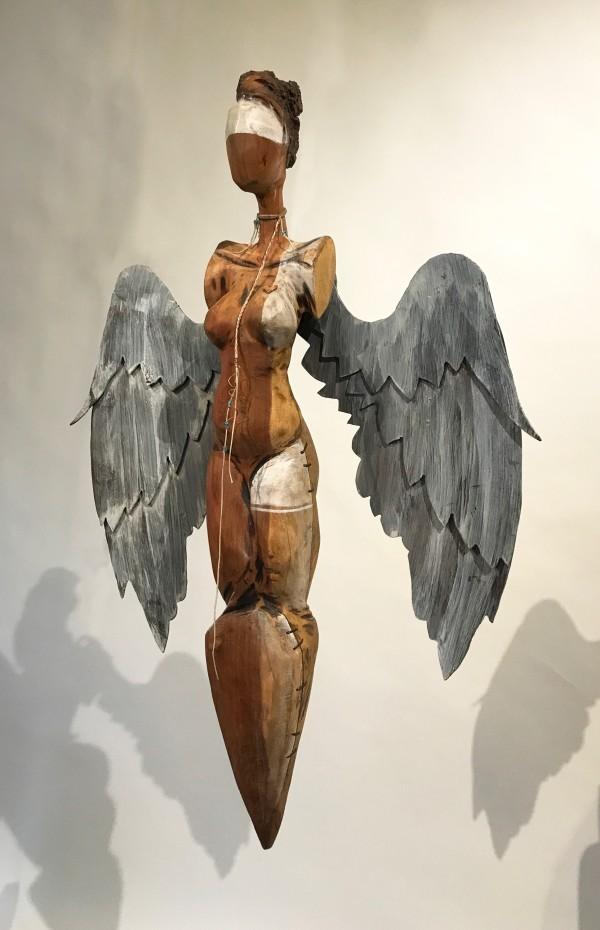 Folded Wing Angel  by Kelly Guidry