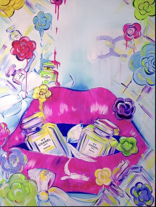 Chanel Kiss  by Oleysa Ianovitch