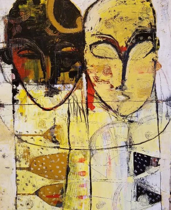 Two Heads by Daniel  Lopez