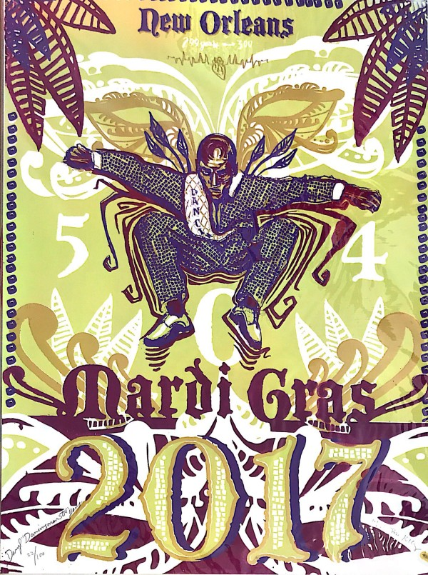 Mardi Gras 504  by Monica Kelly