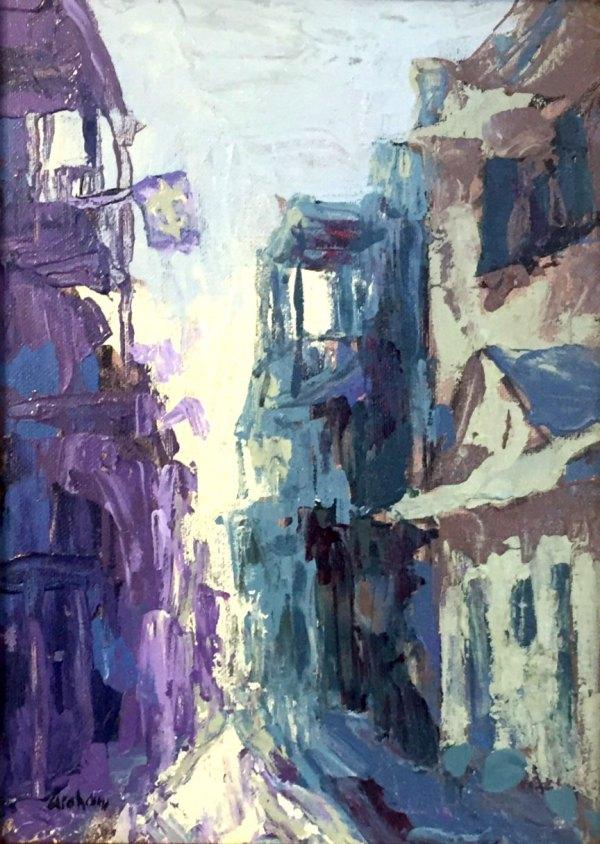 Royal St Abstract by Bob Graham