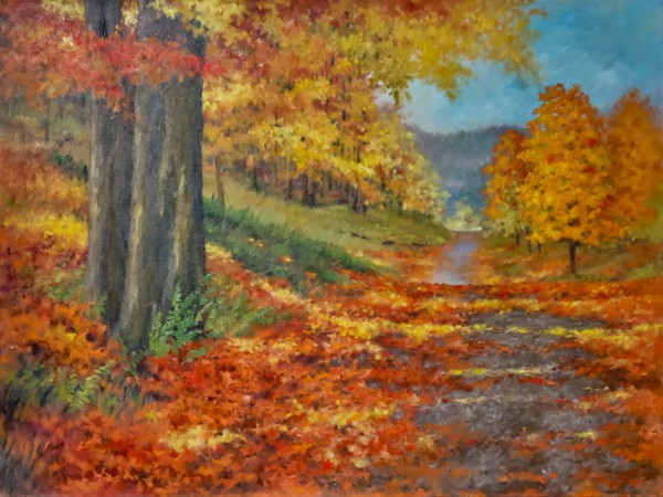 Autumn Drive by Linda Eades Blackburn