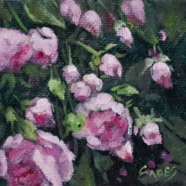 Bea's Roses Mini by Linda Eades Blackburn