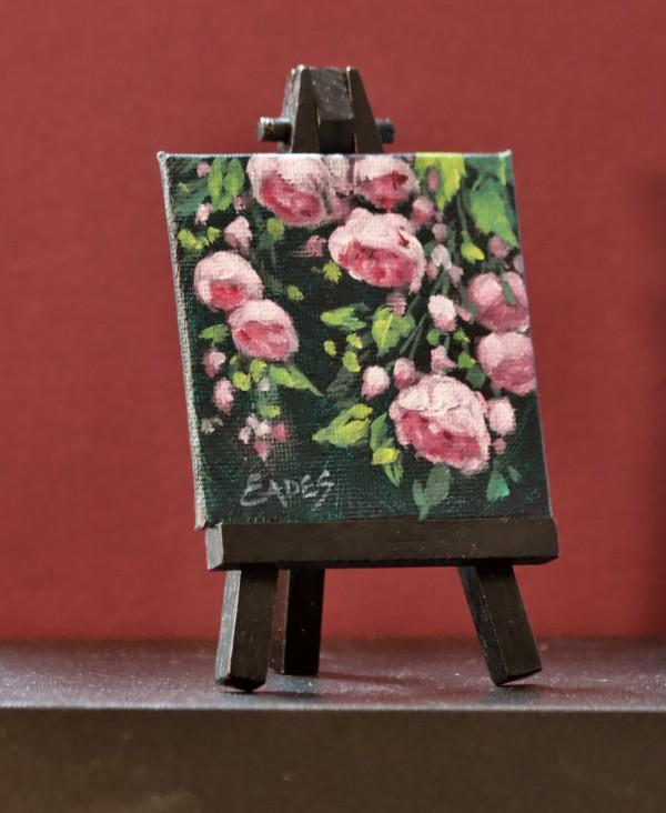 Bea's Roses Mini II by Linda Eades Blackburn