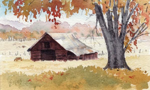 Bright Autumn Day by Linda Eades Blackburn