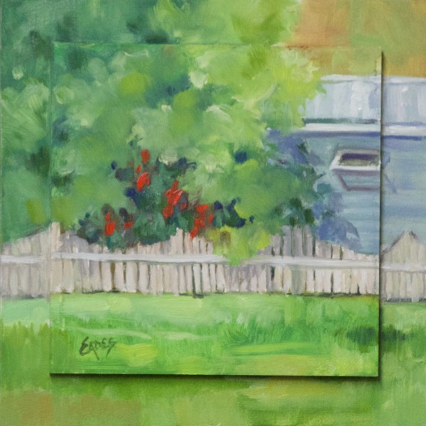 Canna Lillies by Linda Eades Blackburn