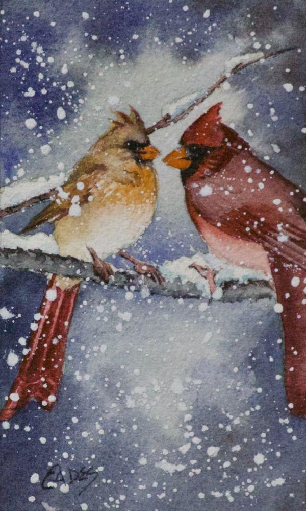 Cardinal Love by Linda Eades Blackburn