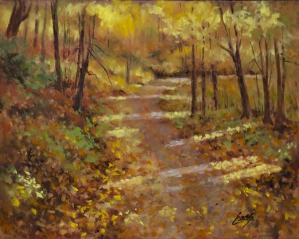 Down a Country Road by Linda Eades Blackburn