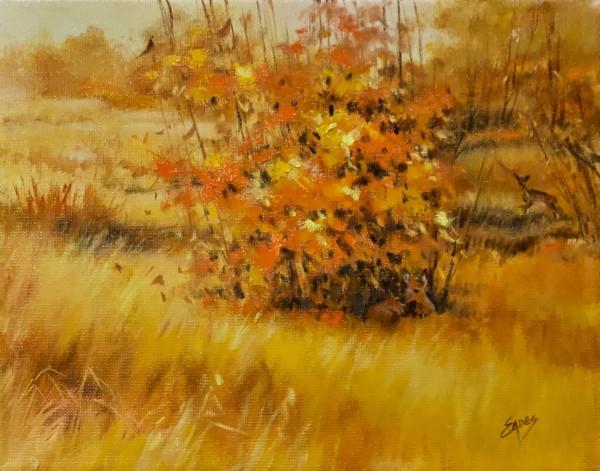 Fall Deer by Linda Eades Blackburn