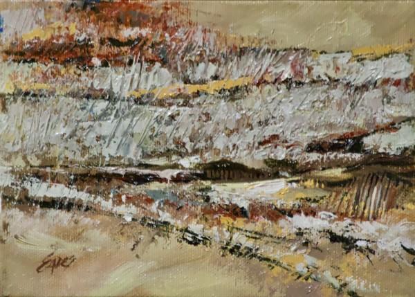 Fall Field Abstract by Linda Eades Blackburn