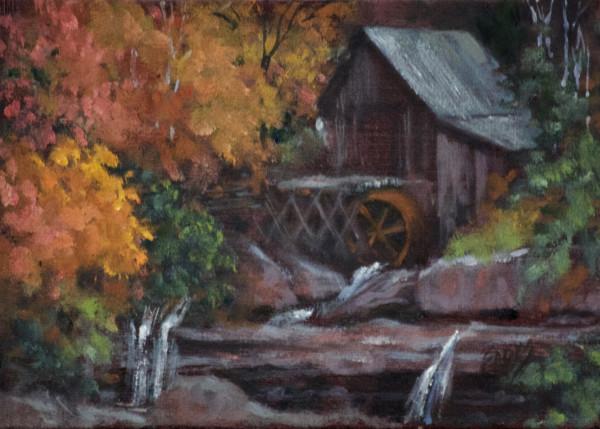 Fall Mill by Linda Eades Blackburn