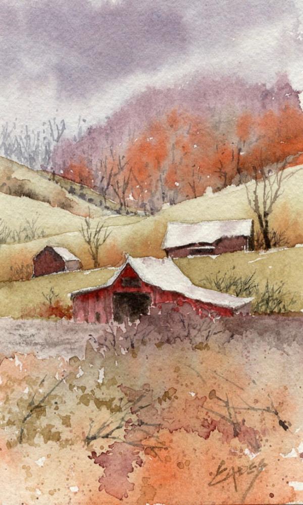 Fall on the Farm by Linda Eades Blackburn