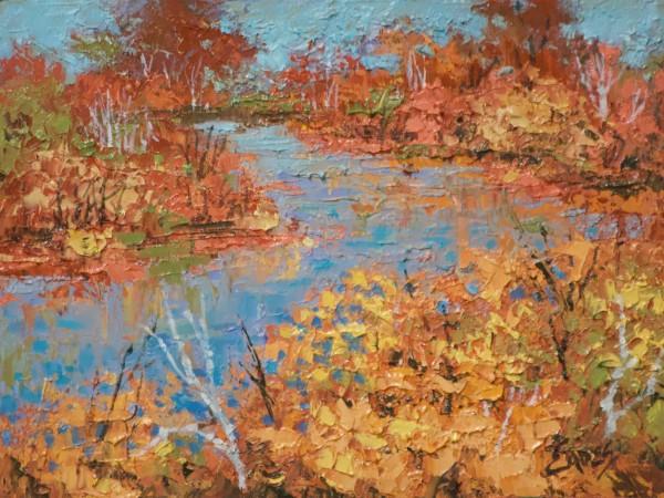 Fall on the River by Linda Eades Blackburn