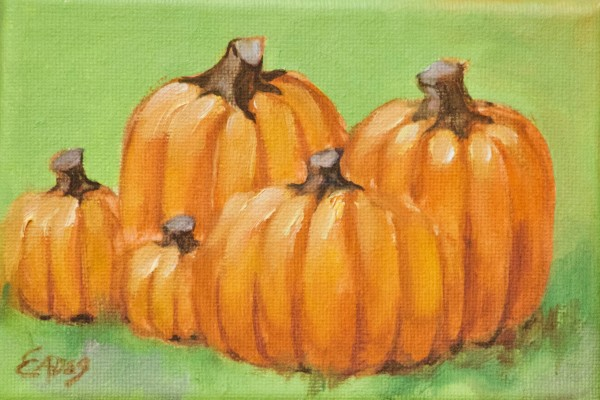 Five little Pumpkins by Linda Eades Blackburn