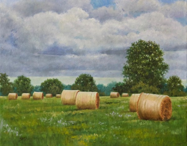 Florida Hay by Linda Eades Blackburn