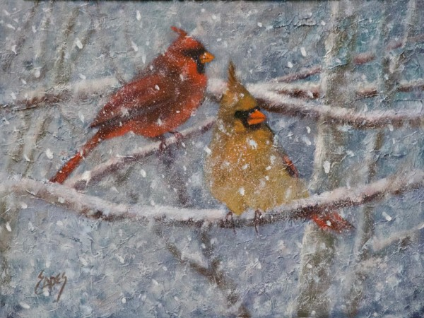 Frigid Pair by Linda Eades Blackburn