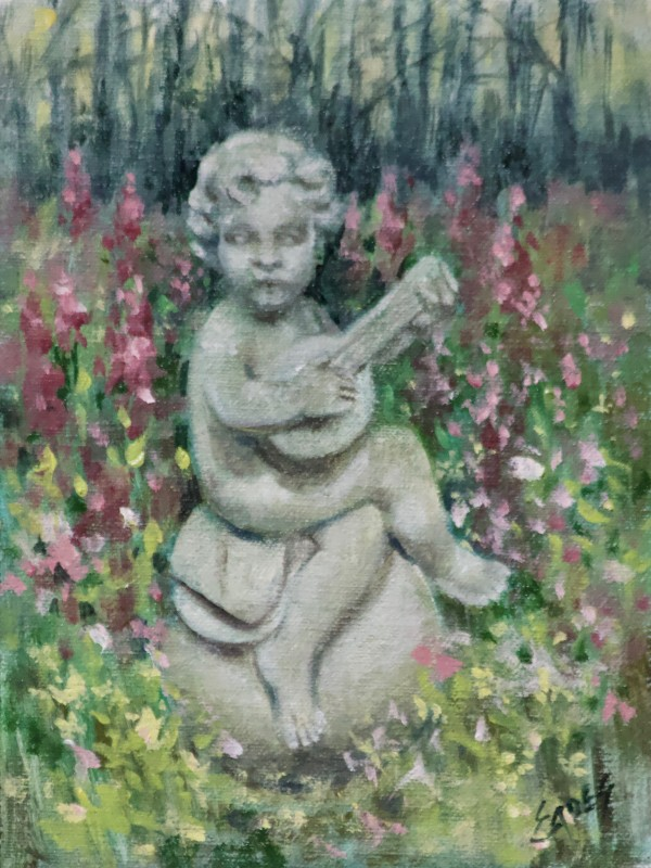 Garden Lute by Linda Eades Blackburn