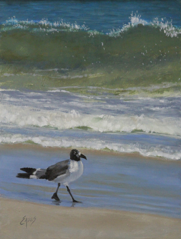Gull Walk by Linda Eades Blackburn