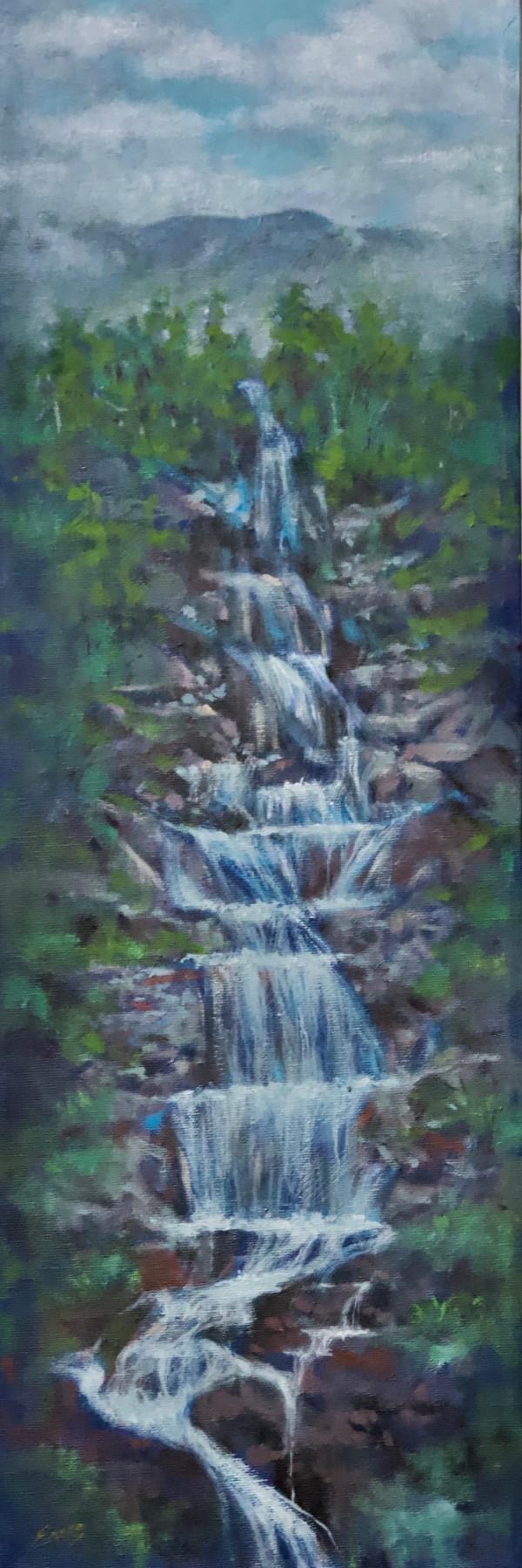 High Falls by Linda Eades Blackburn